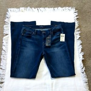 Lucky Brand Brooke Flare Blue Jeans